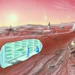 Ảnh minh họa cuộc sống của các cư dân định cư sao Hỏa