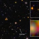 Phát hiện EGSY8p7 - Thiên hà cổ nhất từng được tìm thấy